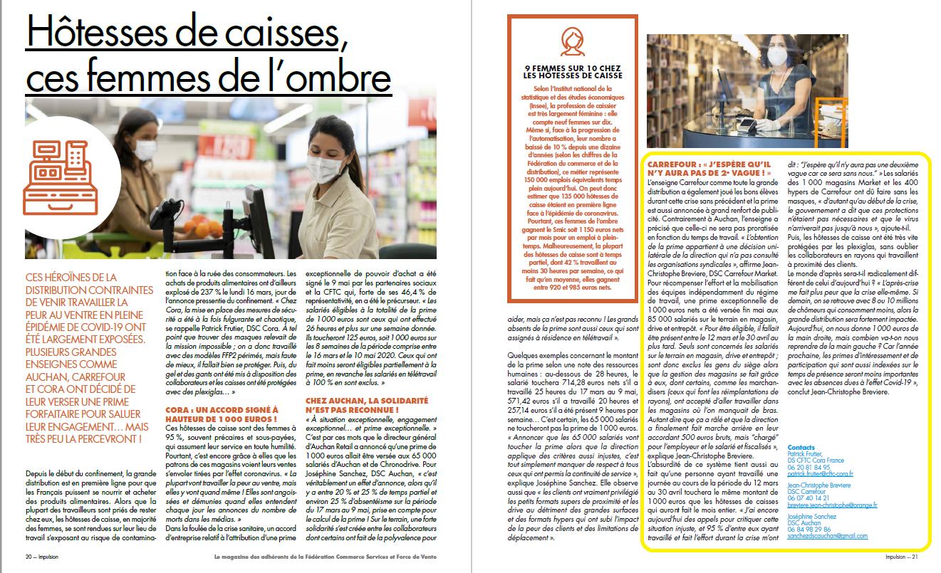 Interview de Jean-Christophe Brevière dans le magazine l'impulsion n°68 à lire absolument!!!